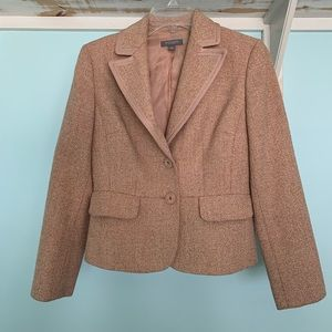 Ann Taylor tweed sport jacket